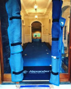 Vloerbescherming, Bescherming vloerbedekking in historisch pand