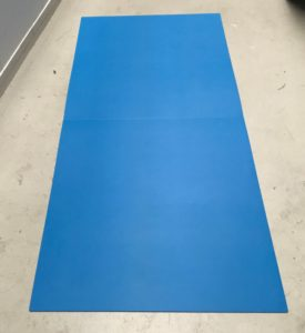 floor protection, polynite, protection plate